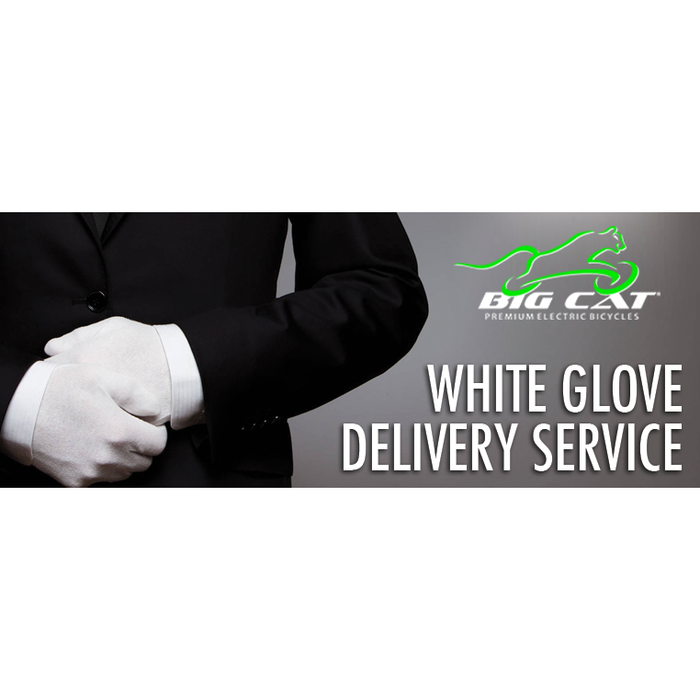 Big Cat ® White Glove Delivery Service