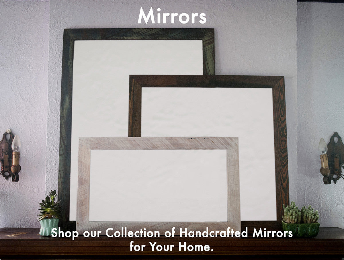 Bathroom Mirrors, Vanity Mirrors, Custom Sizes and Colors