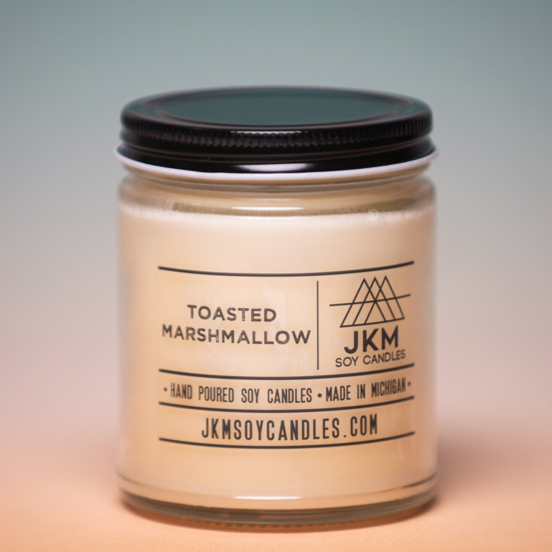 JKM Soy Candle - Toasted Marshmallow, JKM Soy Candles, Handcrafted Home Goods and Gifts