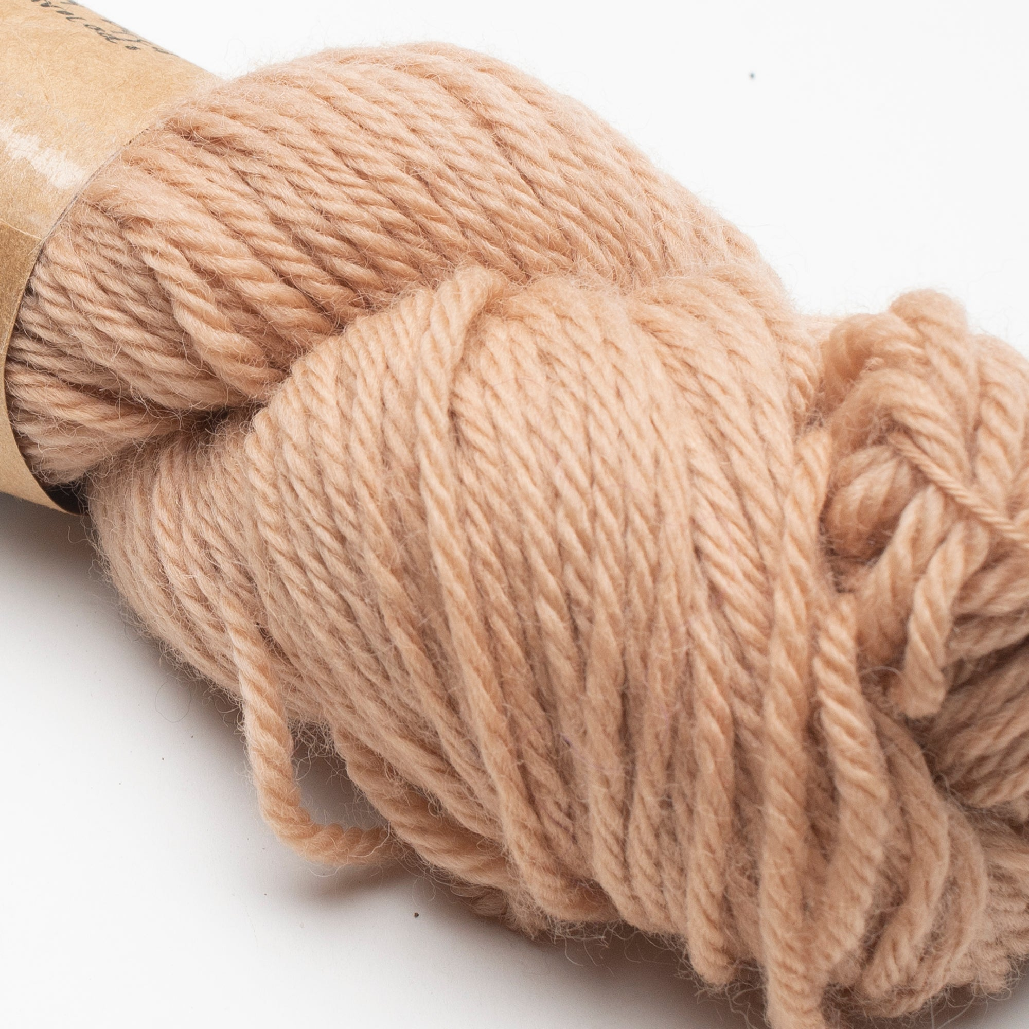 Yarn - Bulky Wool Naturally Dyed with Avocado