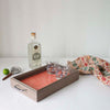 Canfield Cocktail Tray - Pink Birch + Gray Oak, Mutual Adoration, Handcrafted Home Goods and Gifts