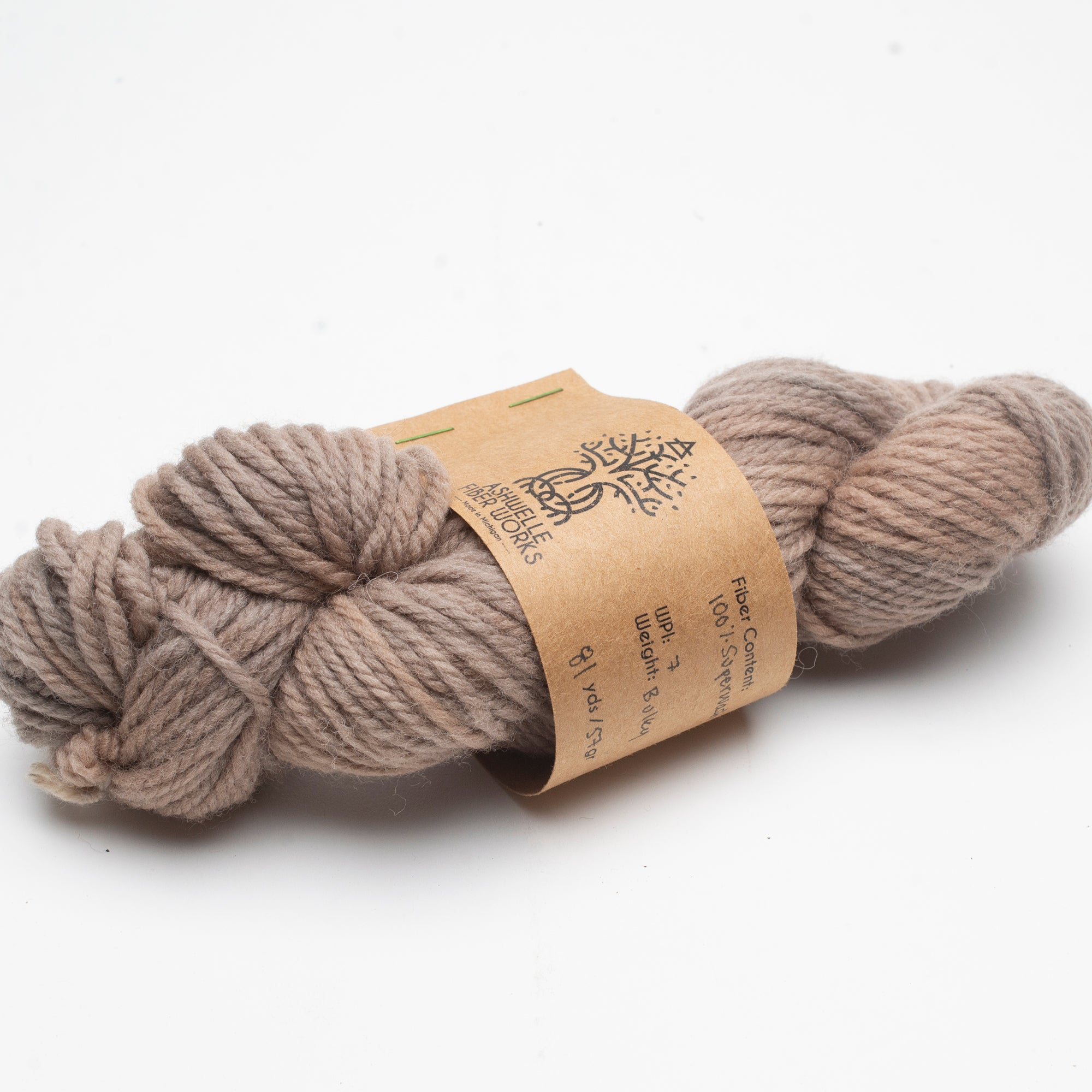 Yarn - Naturally Dyed with Purple Carrot and Iron