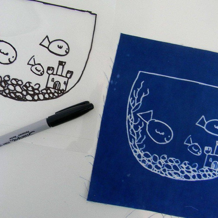 Sun Printing Kit - Create Cyanotype Photography Notecards, POST, Handcrafted Home Goods and Gifts