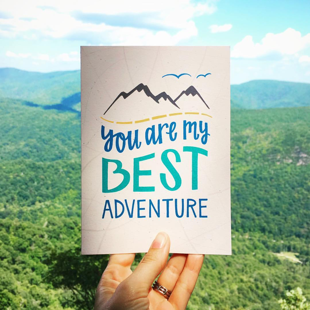 Love Card - You Are My Best Adventure