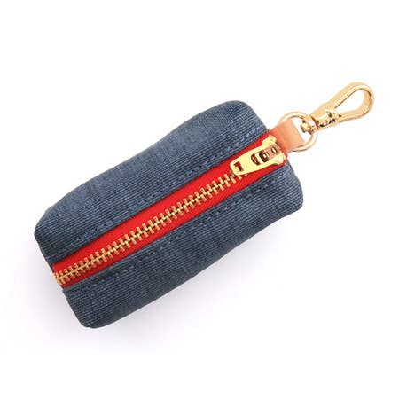 Dog - Dark Denim Waste Bag Holder