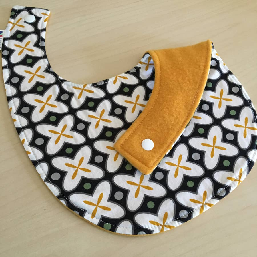 Baby - X Marks the Spot Baby Bib, Liddle Handmade, Handcrafted Home Goods and Gifts