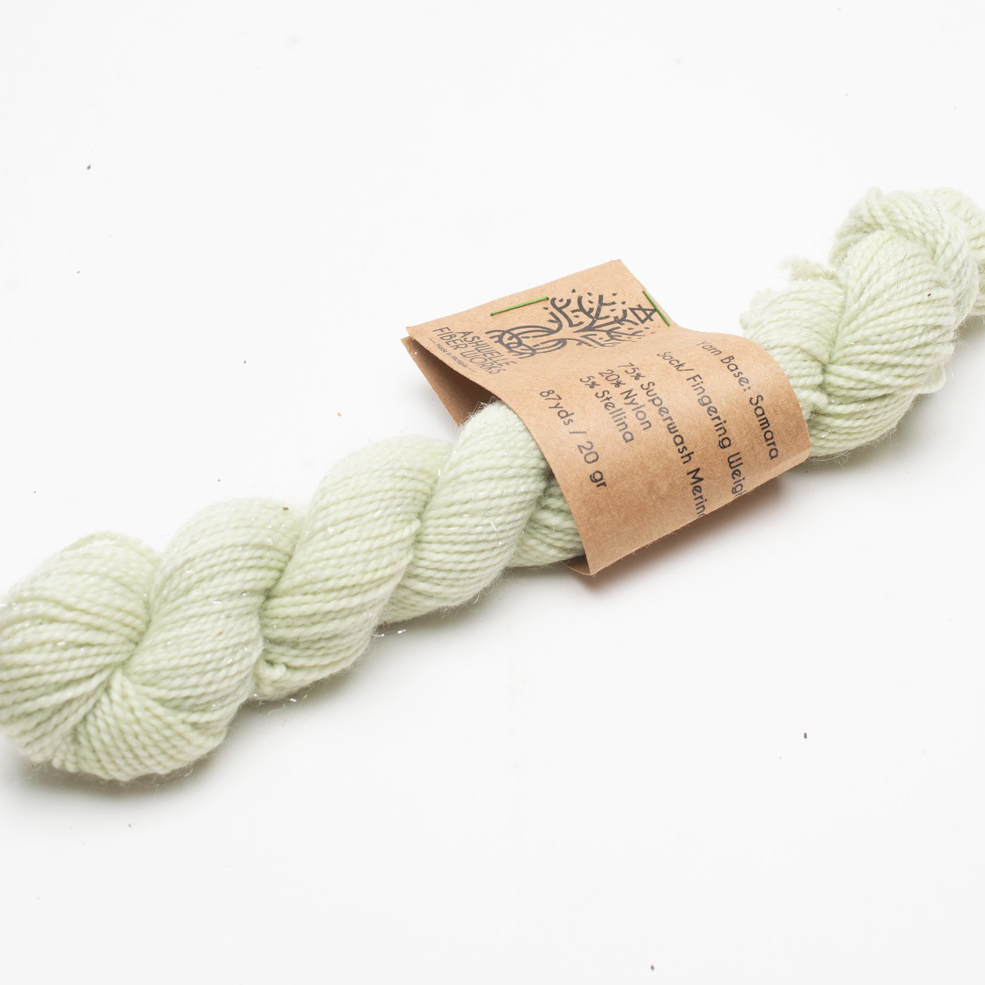 Yarn - Mini Skein Naturally Dyed with Violets