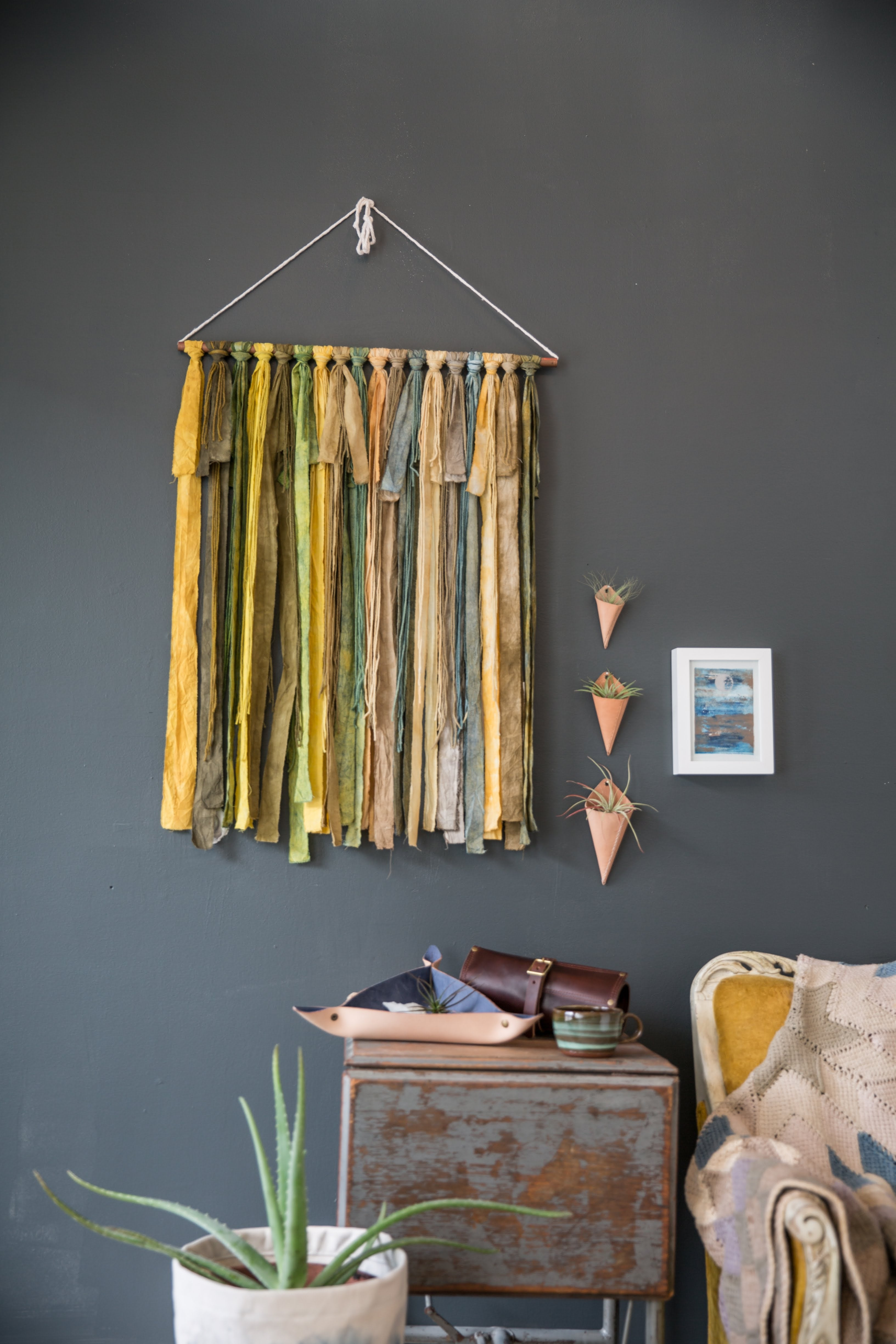 04/18 Natural Dye Workshop: Greenery with Adventure Textiles on Saturday April 18 at 11am