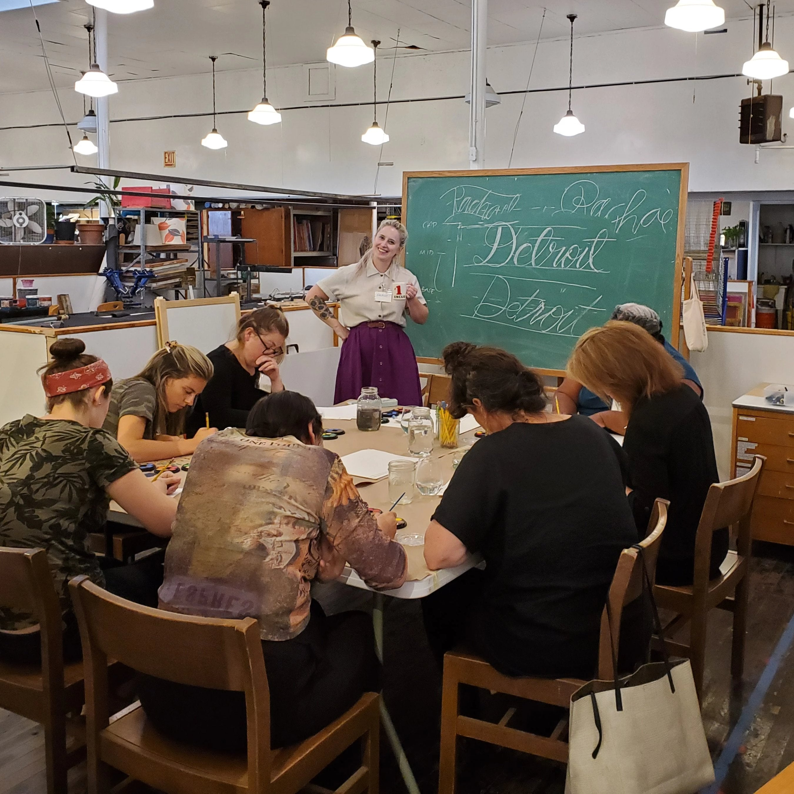 12/28 Hand Lettering Workshop: Brush + Watercolor on Saturday December 28 at 12pm