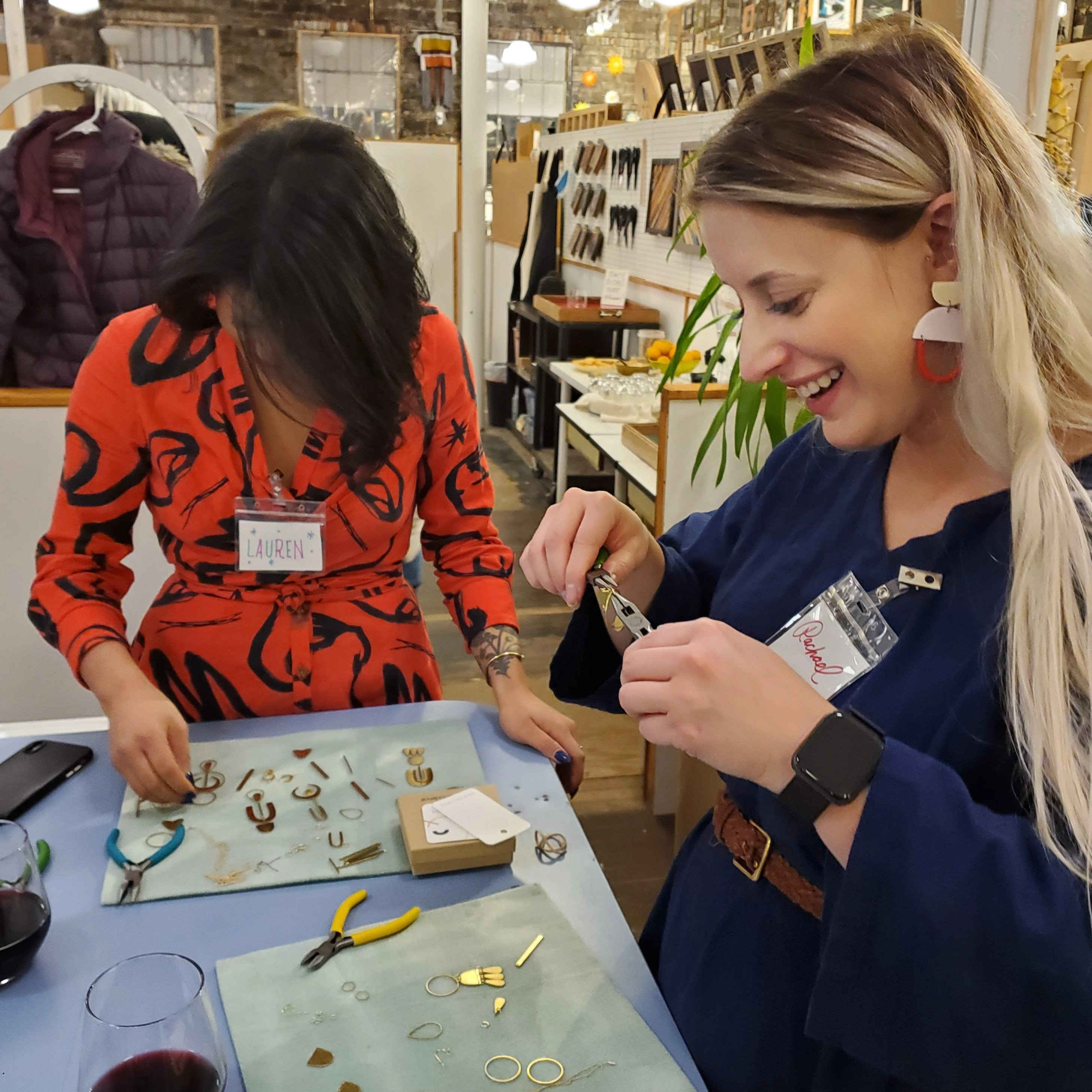 2020 - 02/13 Jewelry Workshop: Custom Beads + Assemblage on Thurs. Feb. 13 from 7pm to 9pm