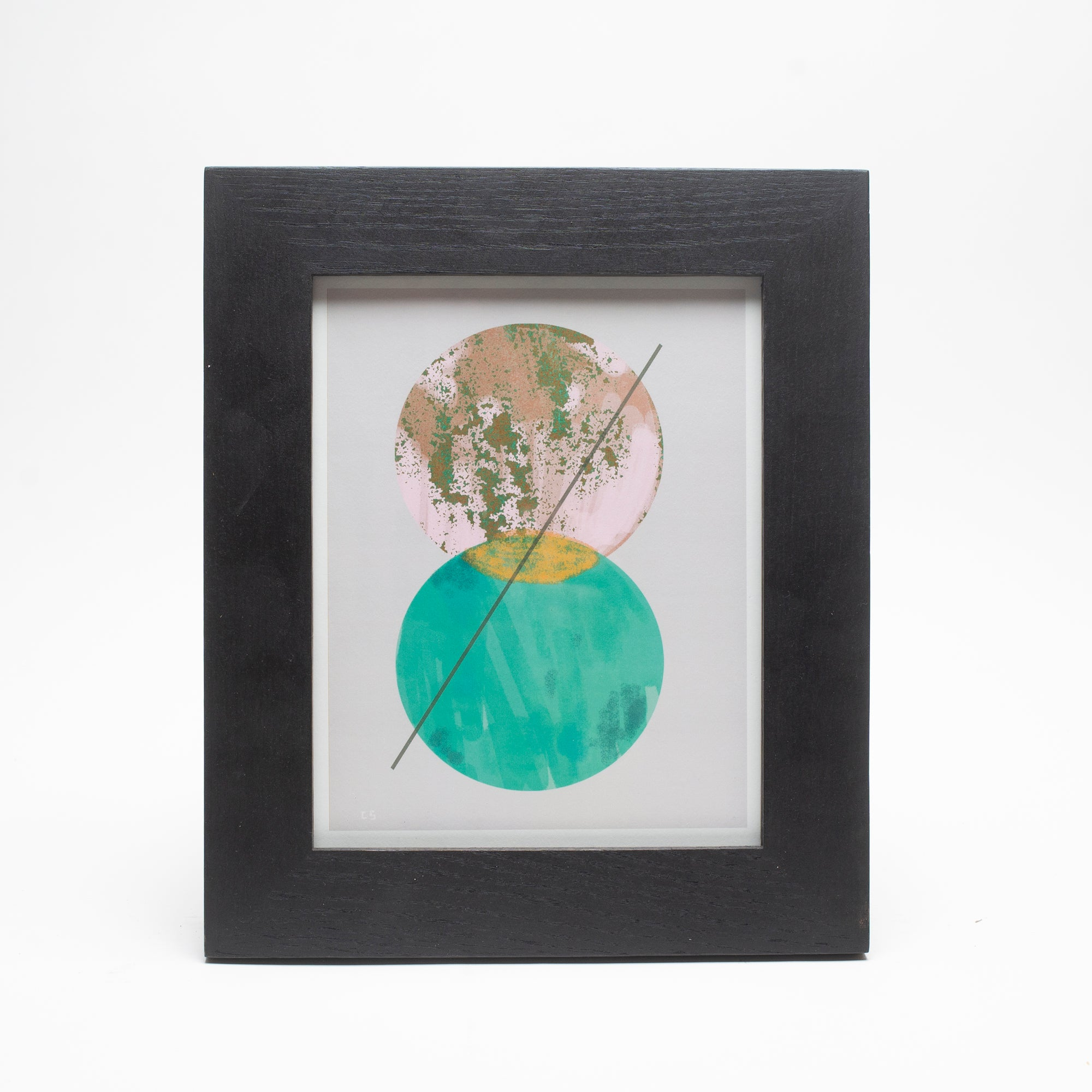 Framed Ferme à Papier Print - Cosmic Jade, Ferme à Papier, Handcrafted Home Goods and Gifts