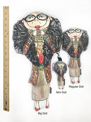 Little Iris Apfel Doll