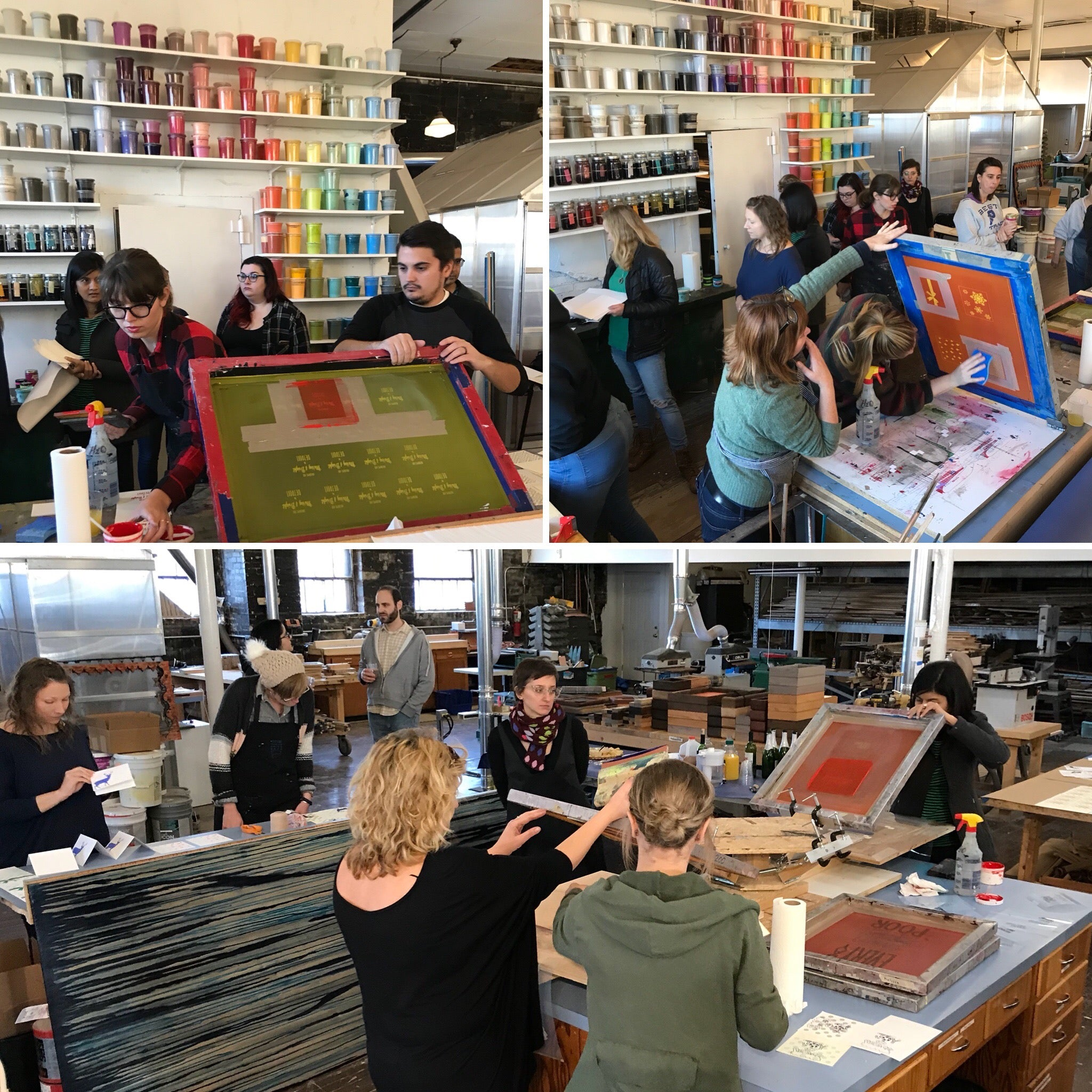 Screen Printing Workshop: Greeting Cards on Saturday August 10 at 2pm