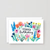 Birthday Card - Floral Birthday Greetings
