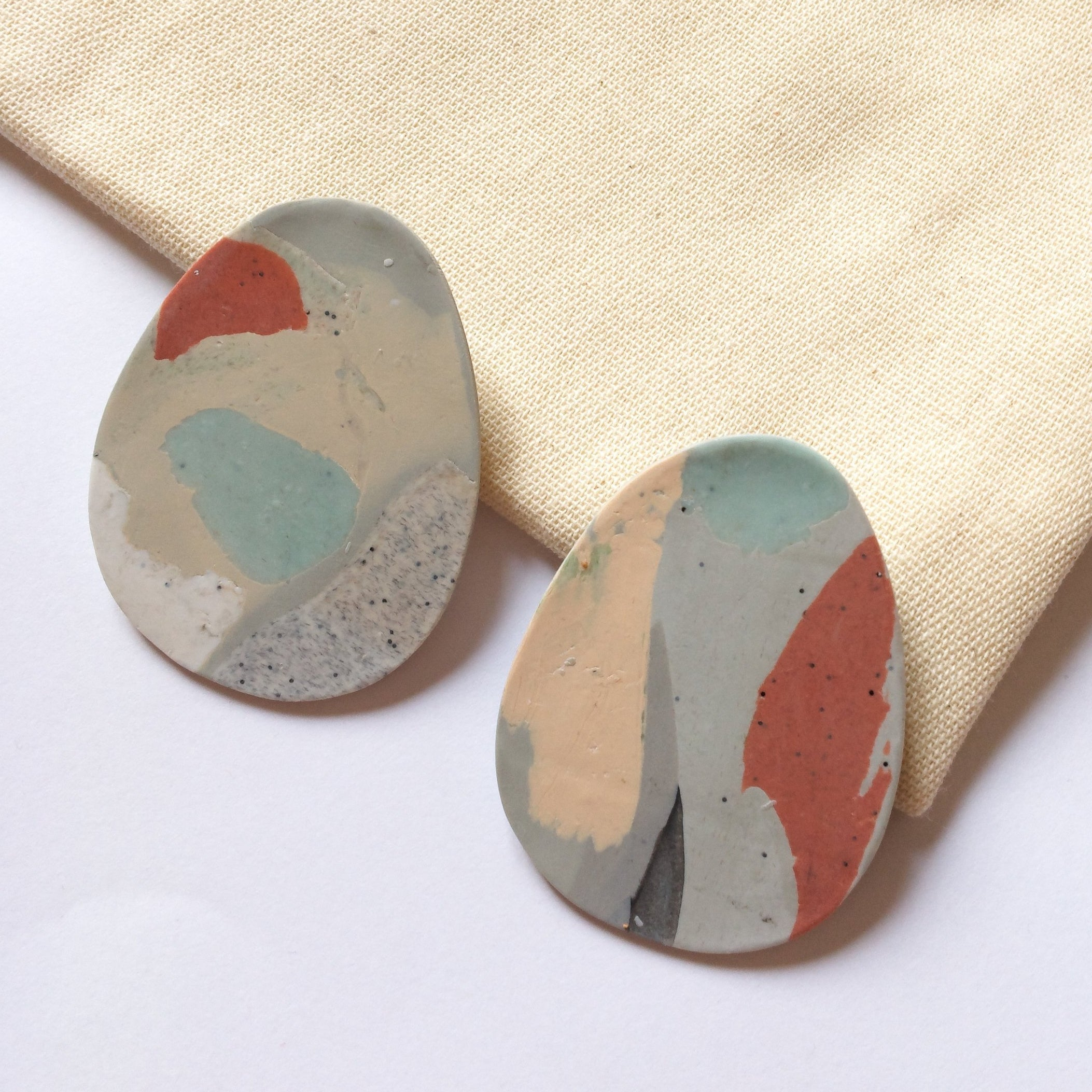 French Clay Earrings - Lagos, Hello Zephyr, Handcrafted Home Goods and Gifts