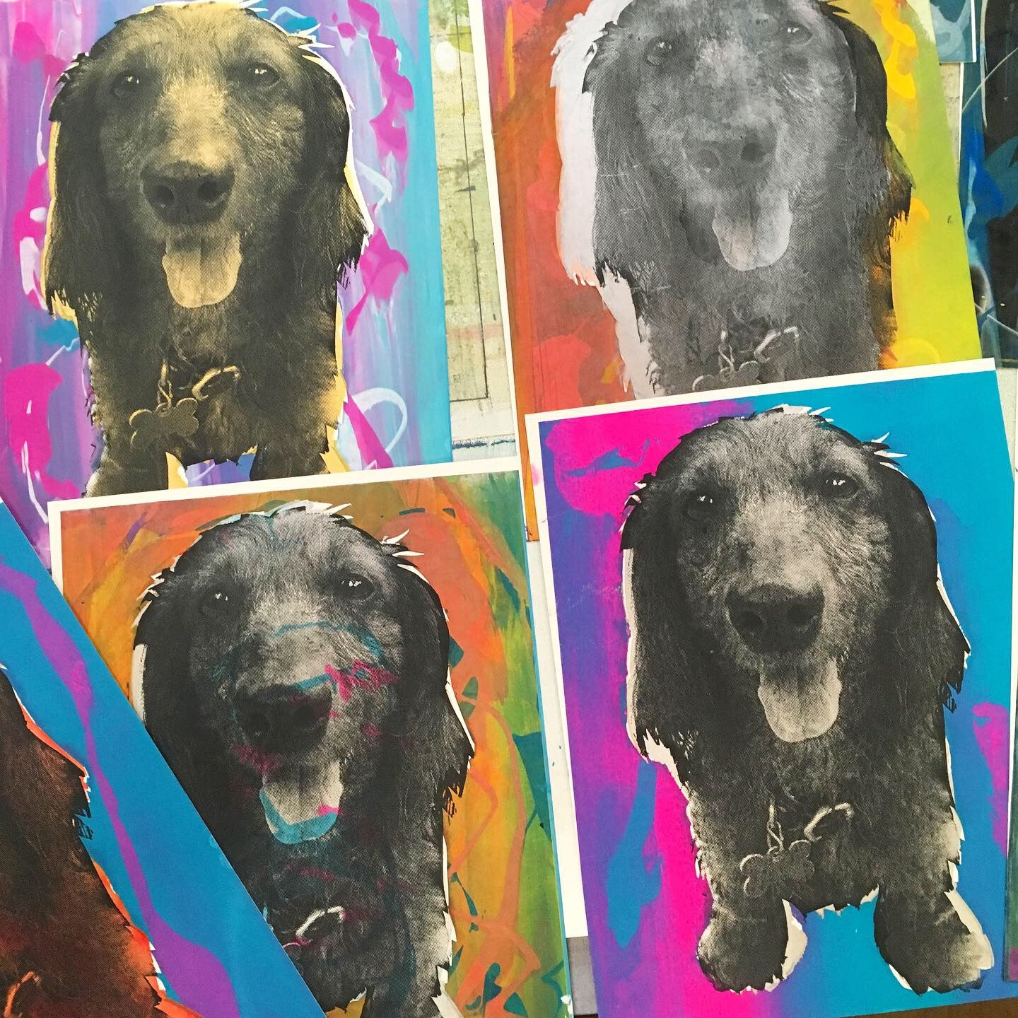 05/17 Screen Printing Workshop: Custom Pet Portraits on Sunday May 17 at 12pm