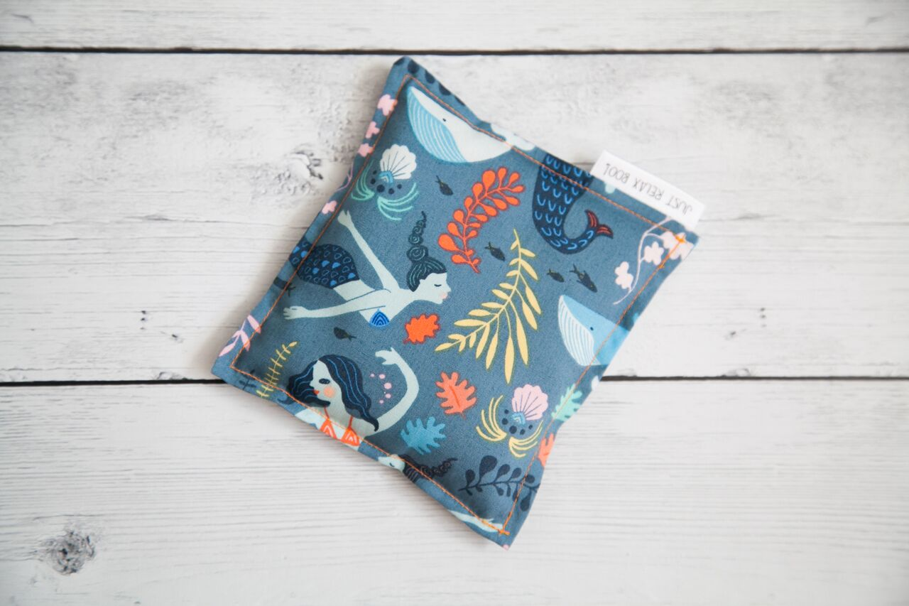 Lavender + Flax Filled Boo Boo Pack - Mermaid Pattern