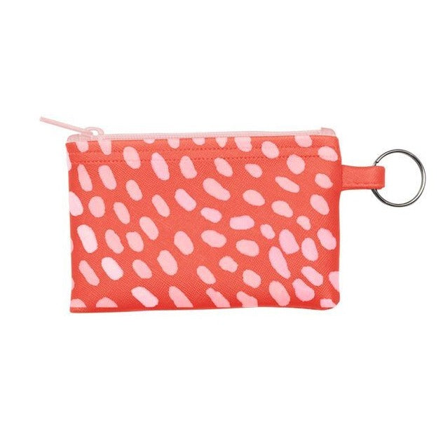 Penny Key Ring Zip Pouch - Cuties