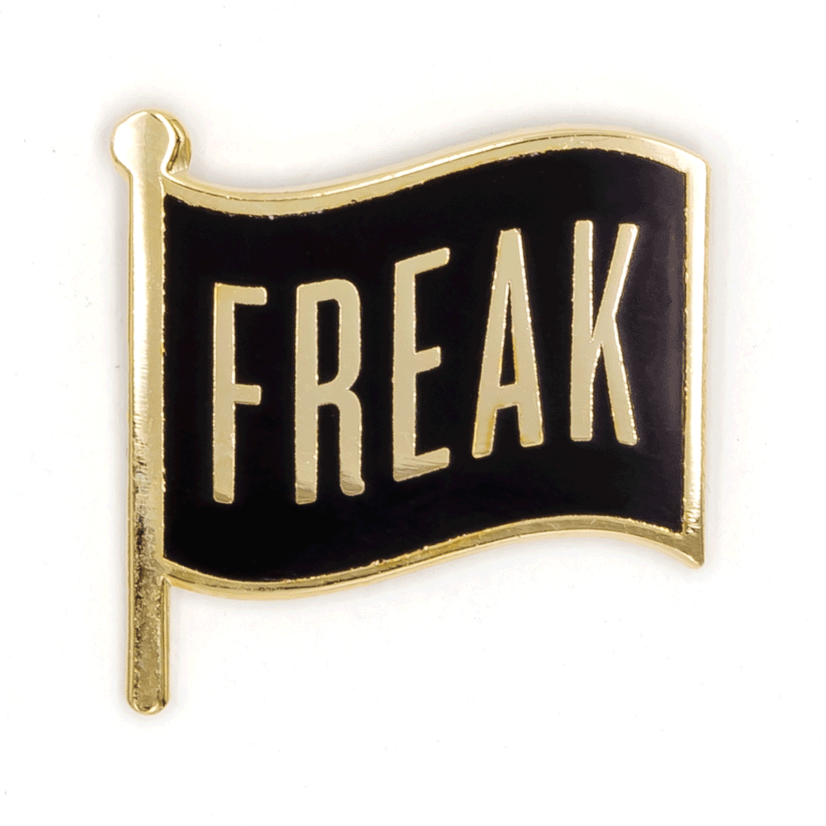 Enamel Pin - Freak Flag, These Are Things, Handcrafted Home Goods and Gifts