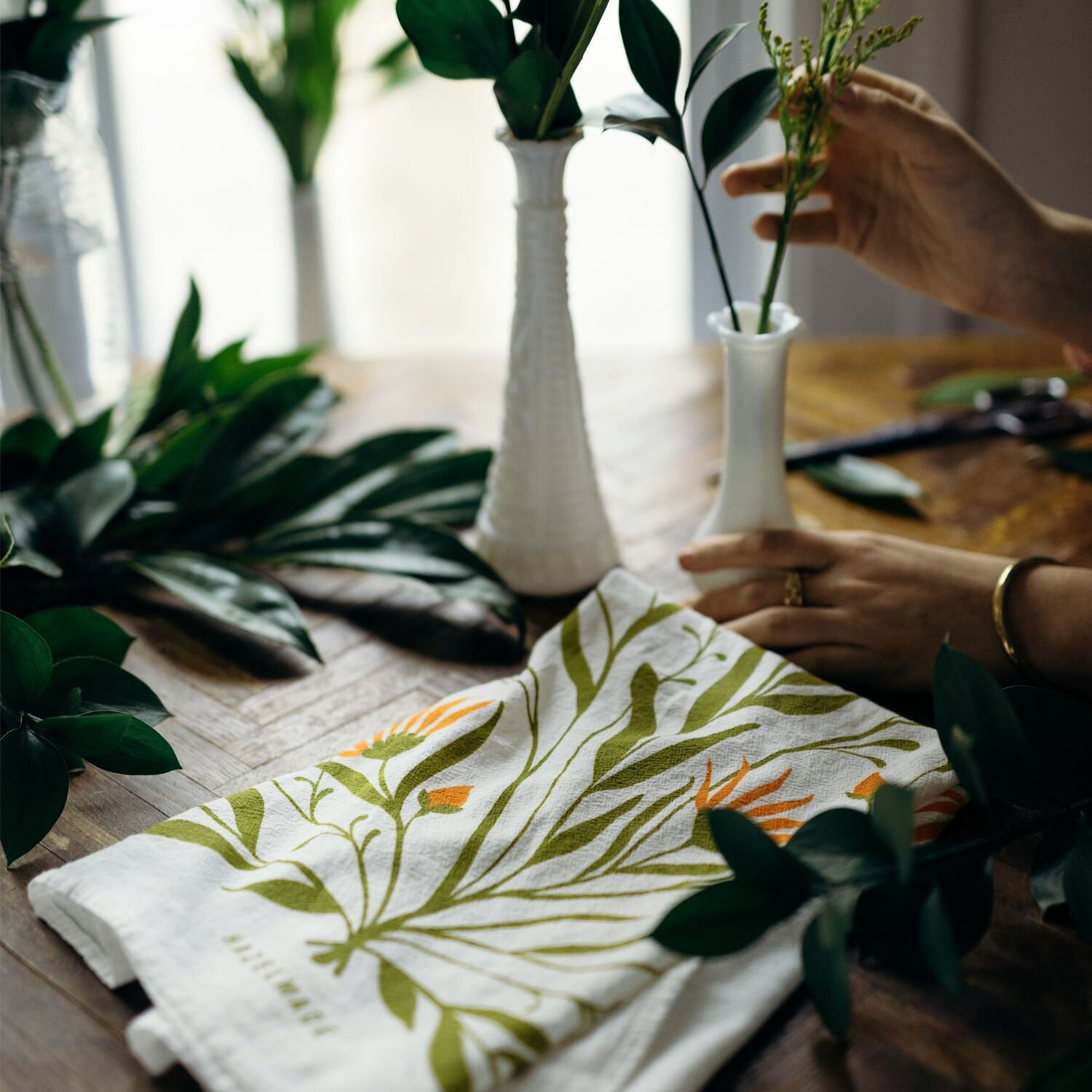 Tea Towel - Bold Florals