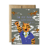 Father's Day Card - Tiger's Paw