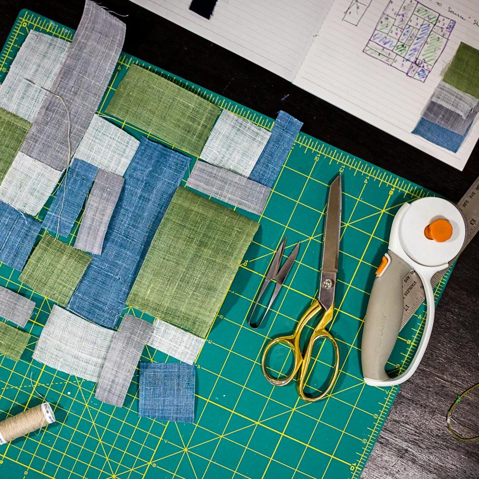 04/11 POSTPONED Hand-Quilting Workshop: Introduction to Korean Pojagi Quilting