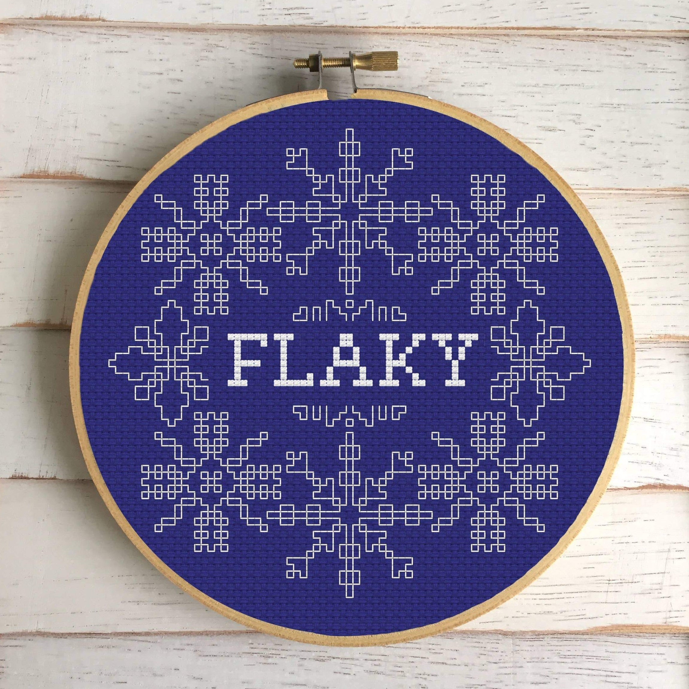 Cross Stitch Kit - Flaky