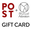 Gift Card, POST, Handcrafted Home Goods and Gifts