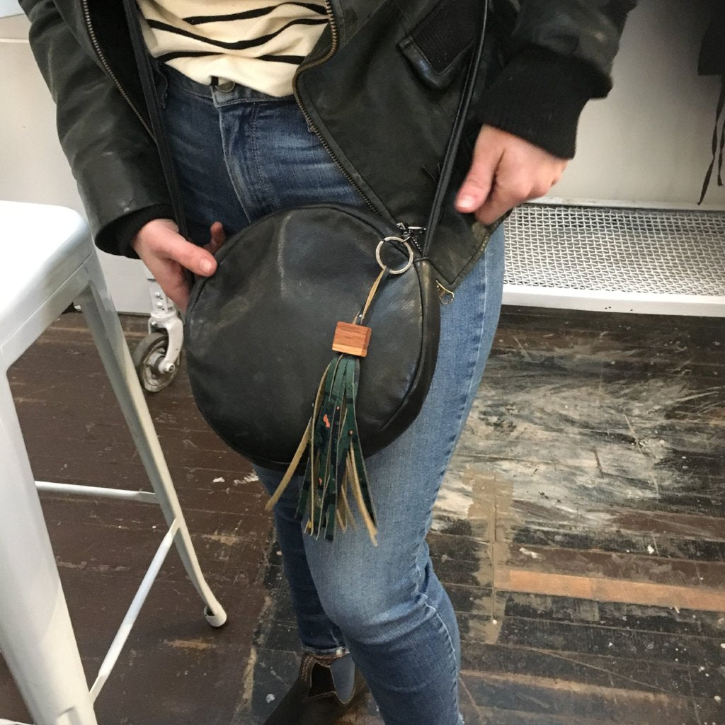 Woodworking + Leather Craft Workshop: Tassel Keychains on Saturday February 23 at 11am