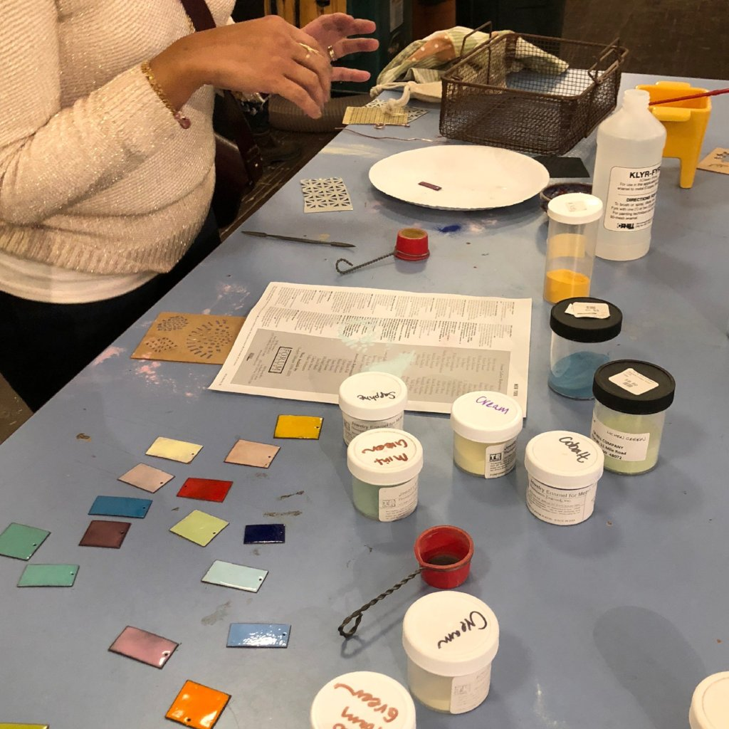 03/28 Jewelry Workshop: Enameled Jewelry on Saturday March 28 at 10:30am