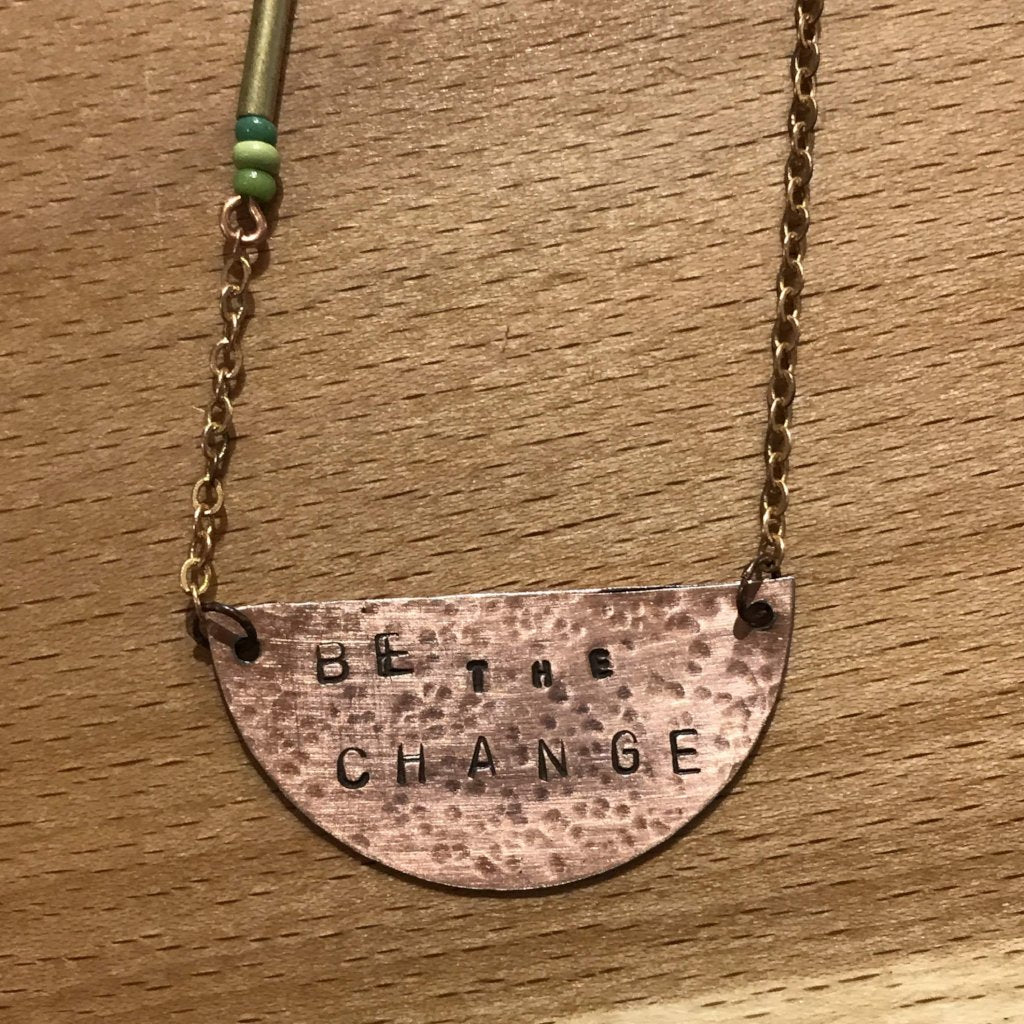 04/17 Jewelry Workshop: Stamped Copper with Courtney Fischer on Friday April 17 at 6pm