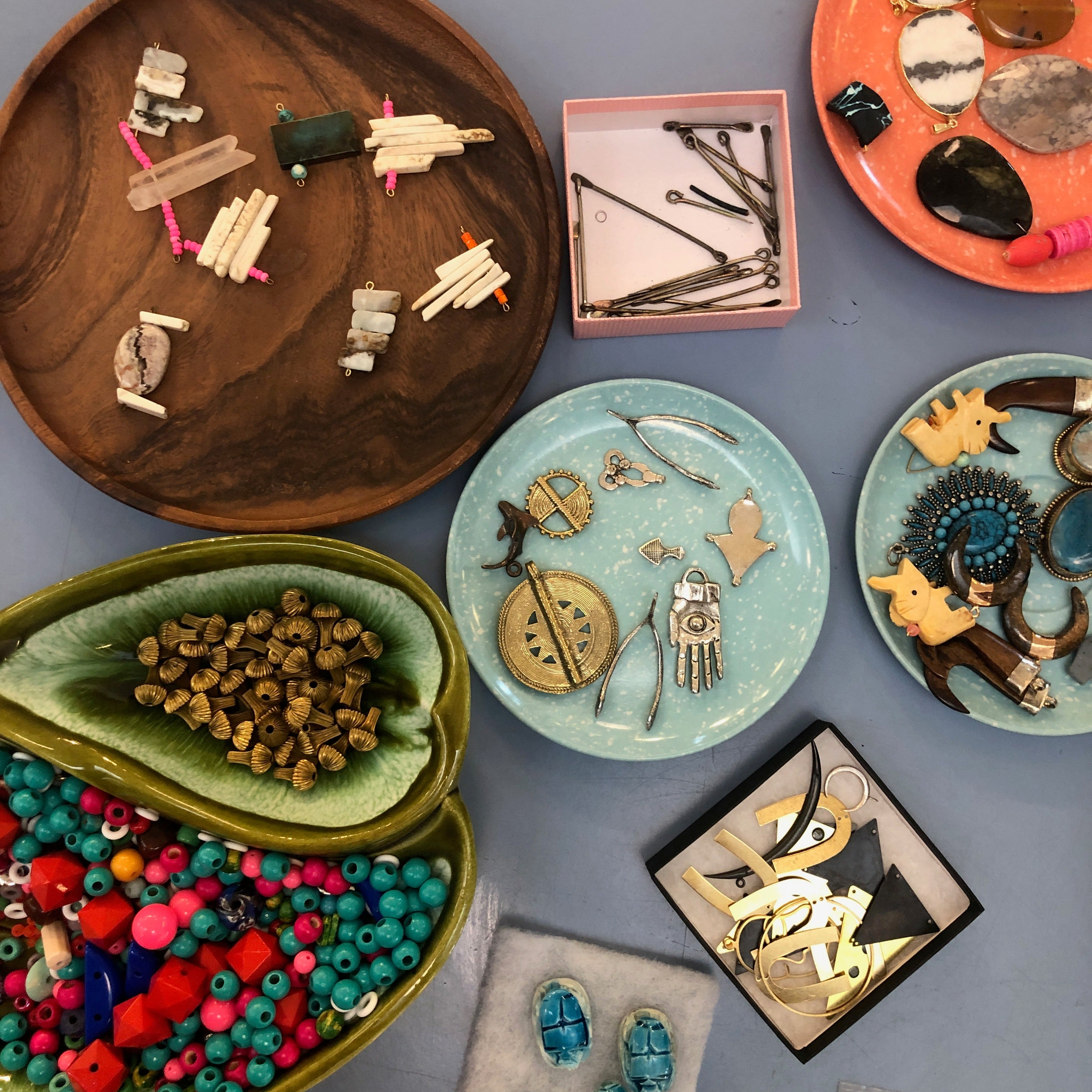 11/21 Jewelry Workshop: Custom Beads + Assemblage with Fate & Coincidence on Thursday November 21 at 7pm