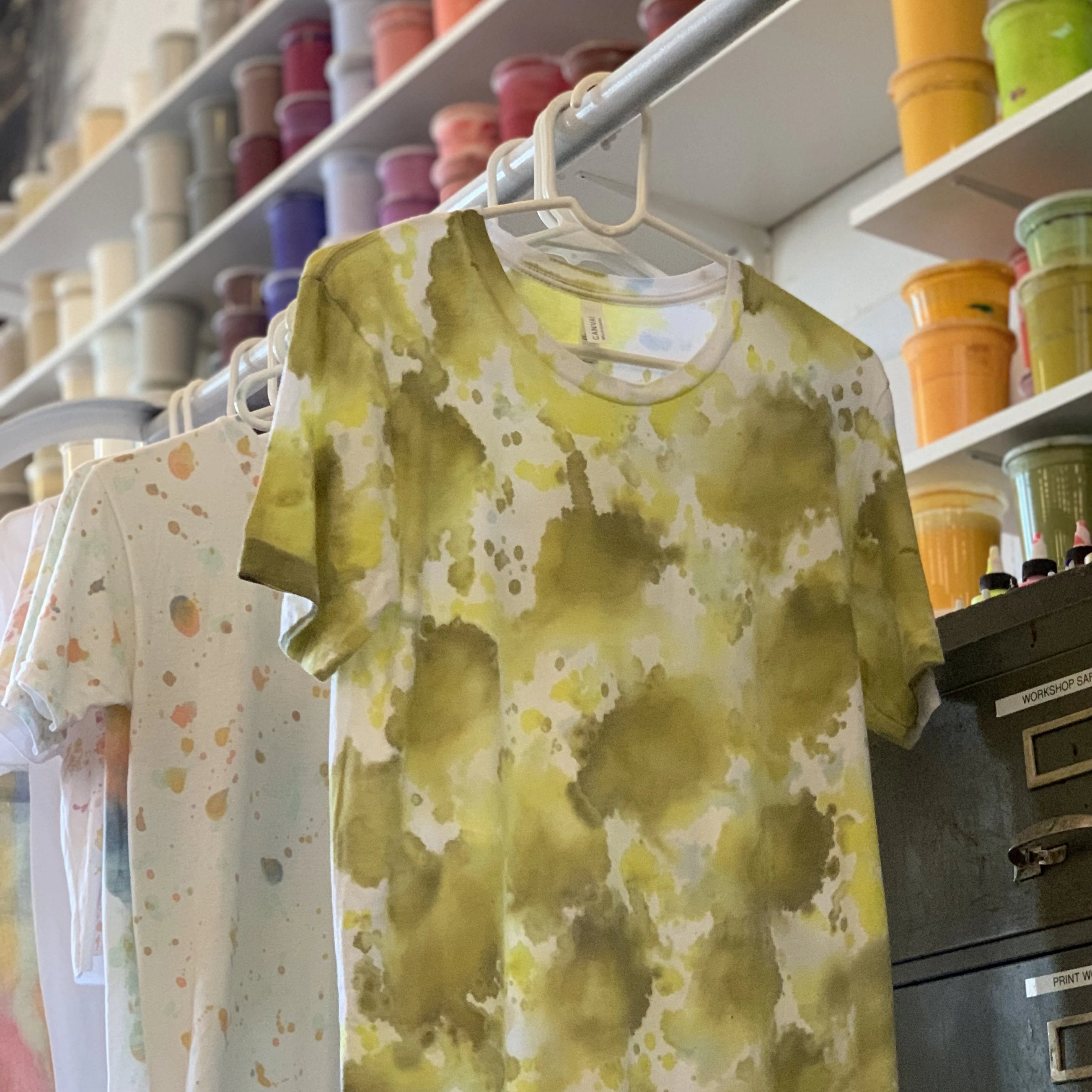 01/25 T-shirt Painting Workshop: Hand-Painted T-shirts on Saturday January 25 at 10:30am