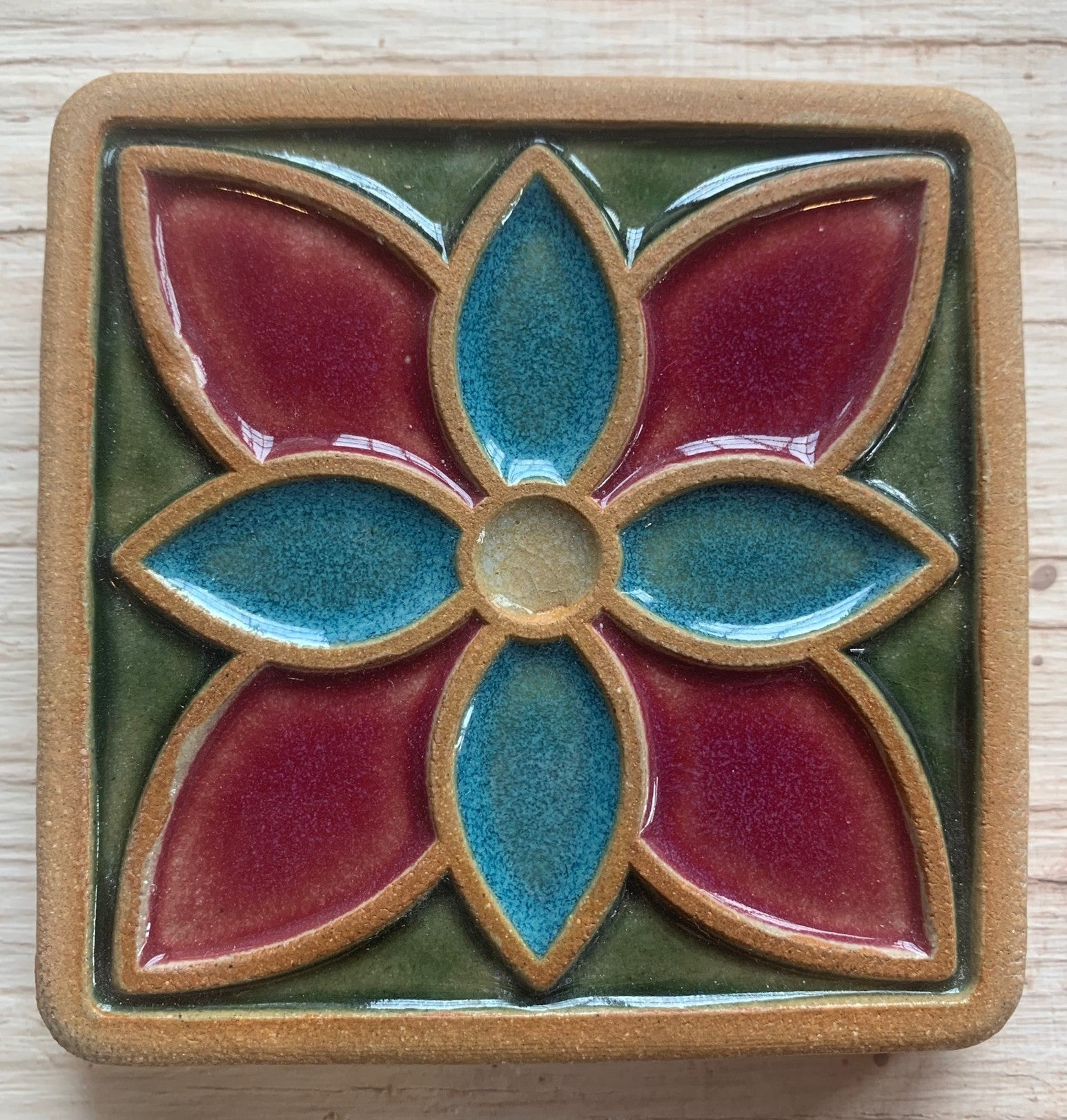05/15 Ceramic Tile Glazing Workshop with Pewabic Pottery on Friday May 15 at 6pm