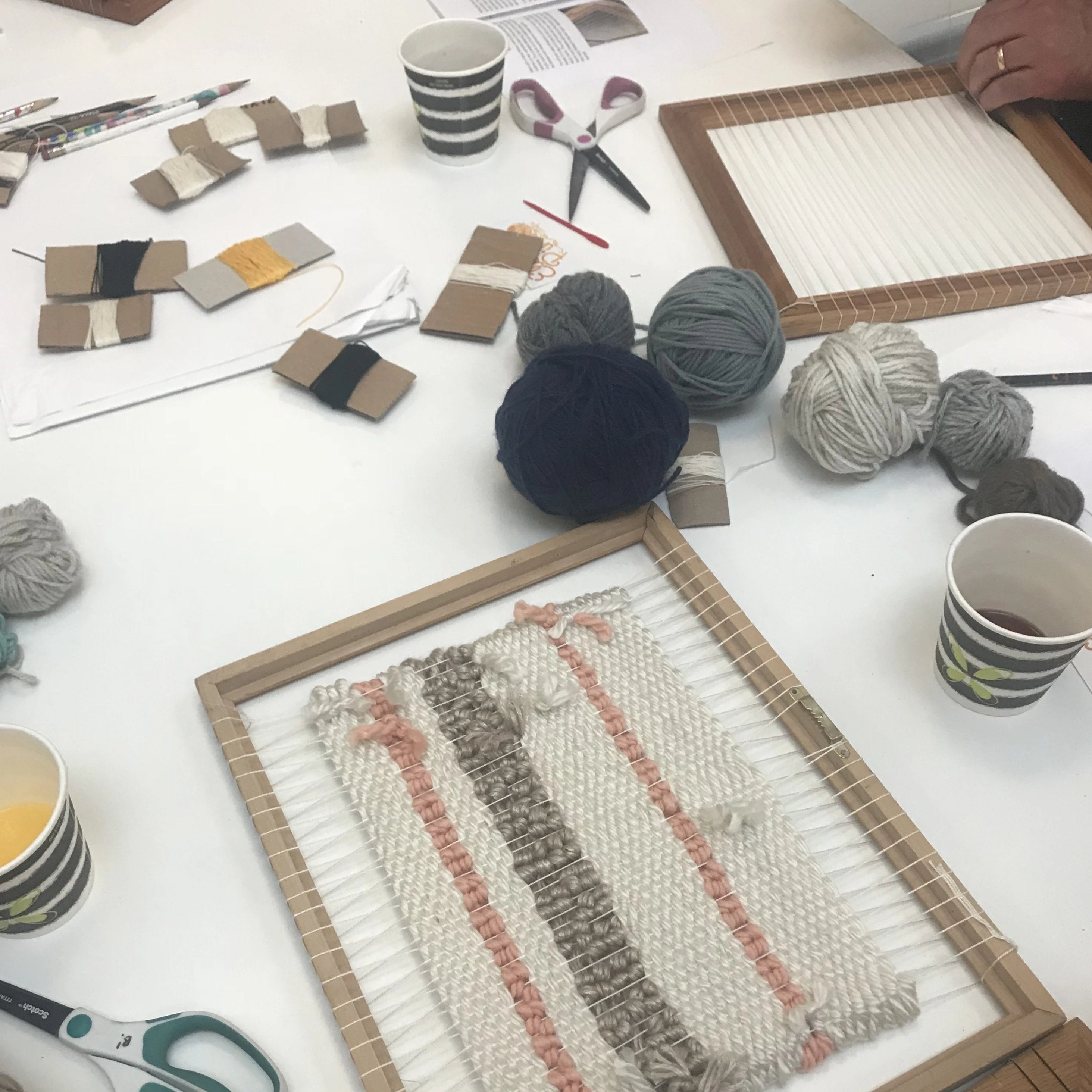2020 - 02/15 Weaving Workshop: Framed Wall Hanging on Saturday February 15 at 10am