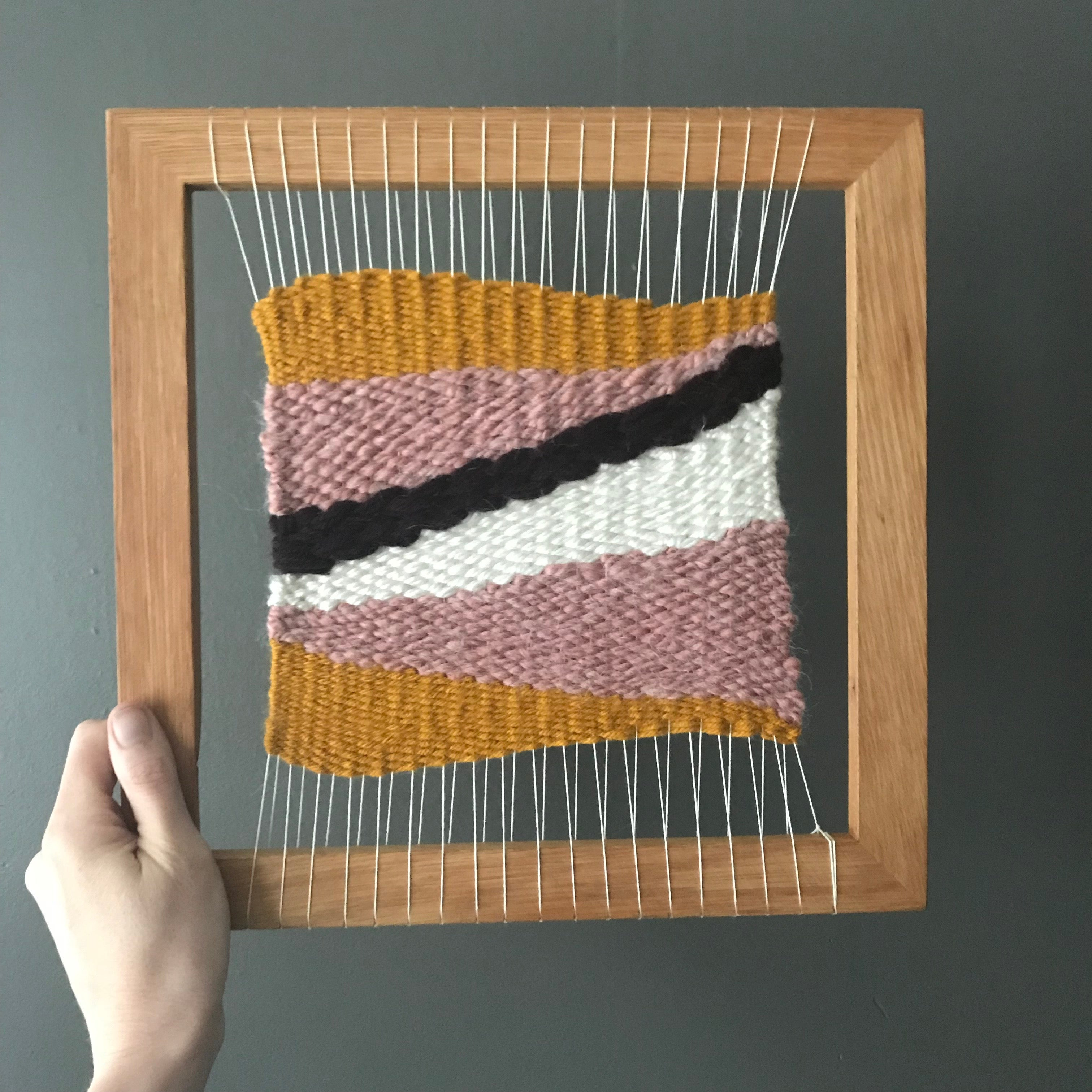 Weaving Workshop: Framed Wall Hanging with Electric Pink on Thursday May 23 at 6pm