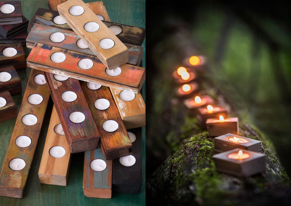 Woodworking Workshop: Candle Holders with Mutual Adoration on Sunday June 23 at 1pm