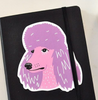 Sticker - Poodle, Hooray Forever (Melissa Dettloff), Handcrafted Home Goods and Gifts