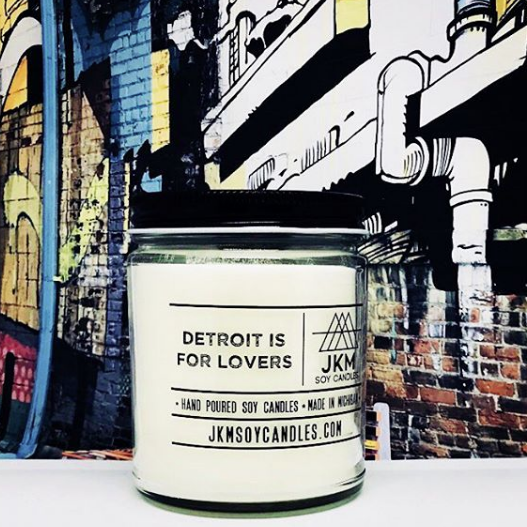 JKM Soy Candle - Detroit Is For Lovers
