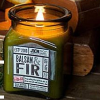 JKM Soy Candle - Balsam & Fir, JKM Soy Candles, Handcrafted Home Goods and Gifts