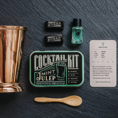 Cocktail Kit - Mint Julep, Cocktail Kits, Handcrafted Home Goods and Gifts