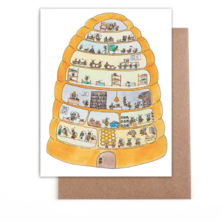 Everyday Card - Beehive Home