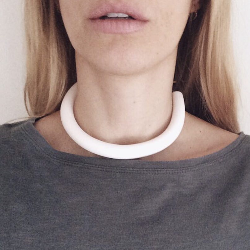 Hello Zephyr Necklace - Ivory Choker