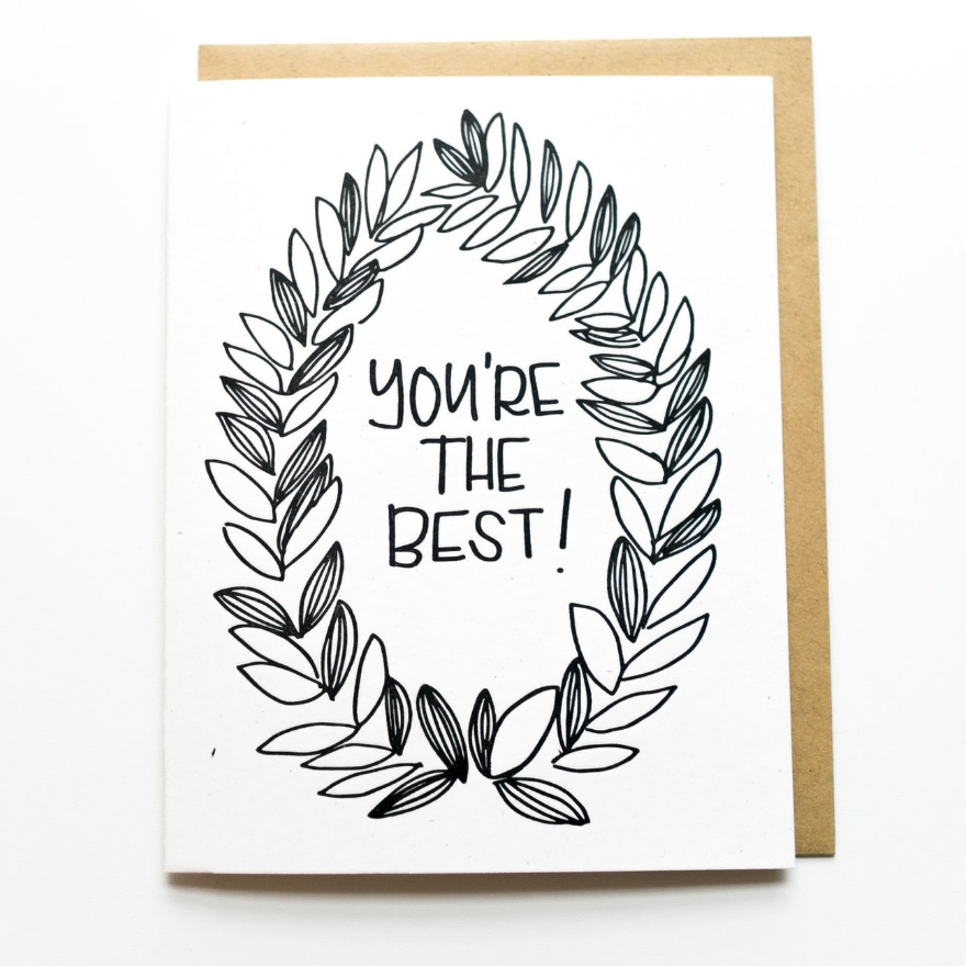 Love Card - You're the Best