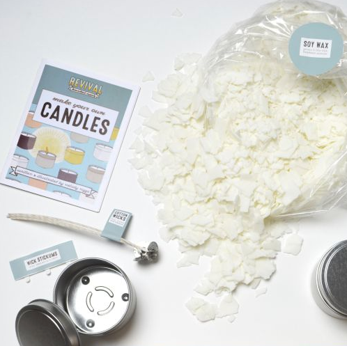 Soy Candle Kit - Add Your Own Scent