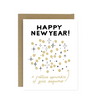 Holiday Card - Gold New Year