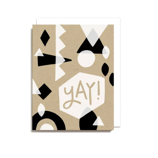 Congratulations Card - Yay!, Worthwhile Paper, Handcrafted Home Goods and Gifts