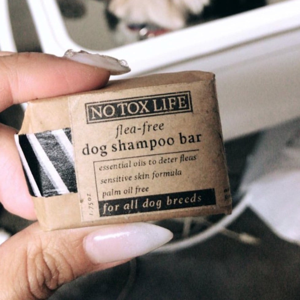 Dog Wash Shampoo Bar, No Tox Life, Handcrafted Home Goods and Gifts