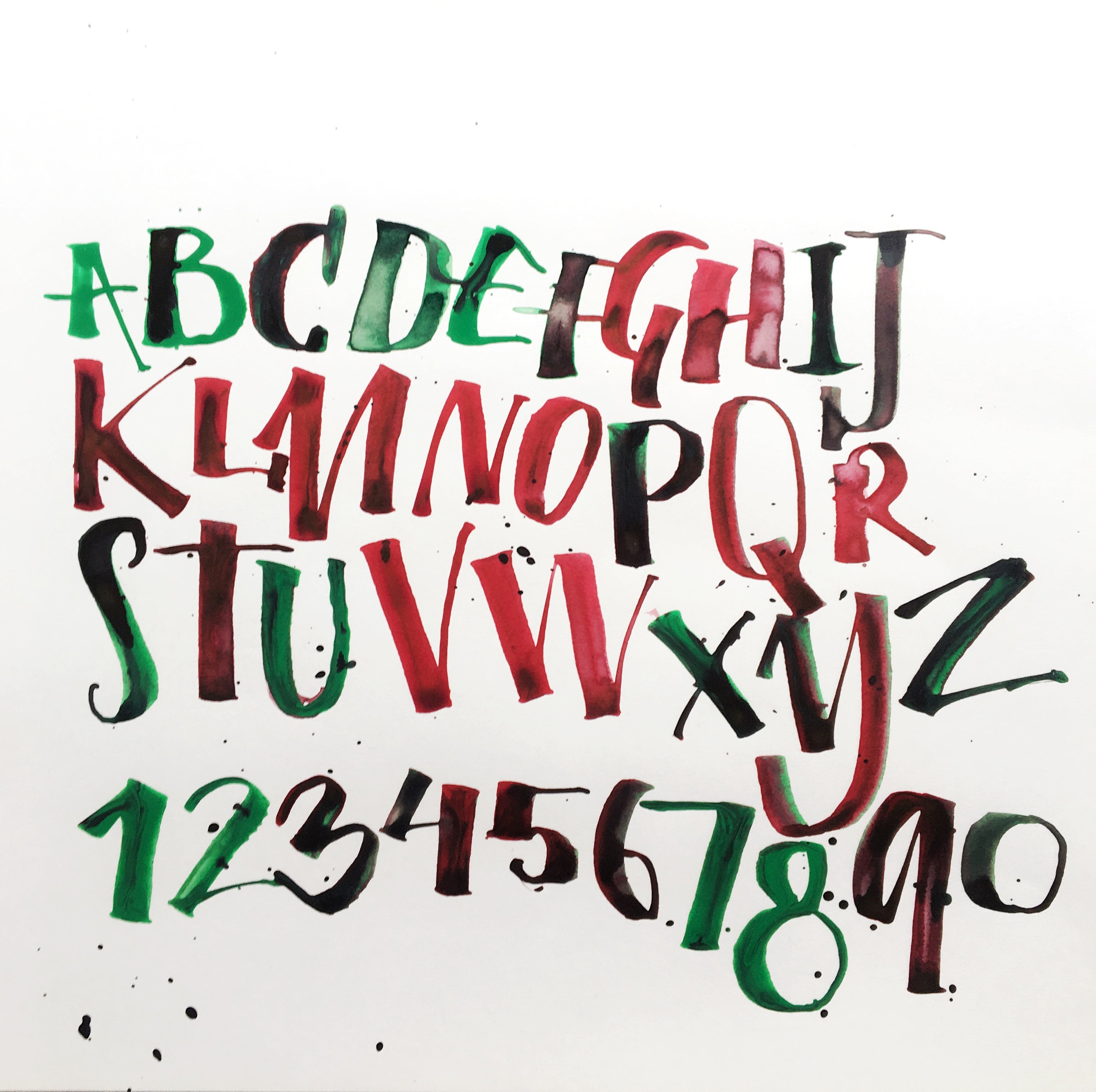 11/16 Calligraphy Workshop: Expressive Calligraphy with Folded Pens on Saturday November 16 at 2pm