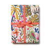 Wrapping Paper - Tropical Jungle Gift Wrap Roll, Red Cap Cards, Handcrafted Home Goods and Gifts